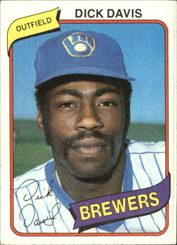 Photo of 1980 Topps #553 Dick Davis
