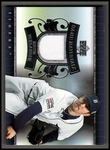 Photo of 2007 Upper Deck UD Game Materials #JV Justin Verlander Jsy S1
