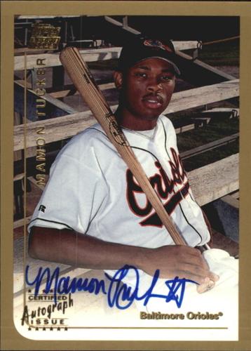Photo of 1999 Topps Traded Autographs #T39 Mamon Tucker
