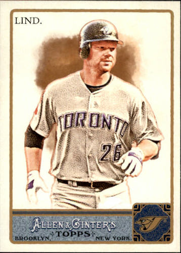Photo of 2011 Topps Allen and Ginter #281 Adam Lind