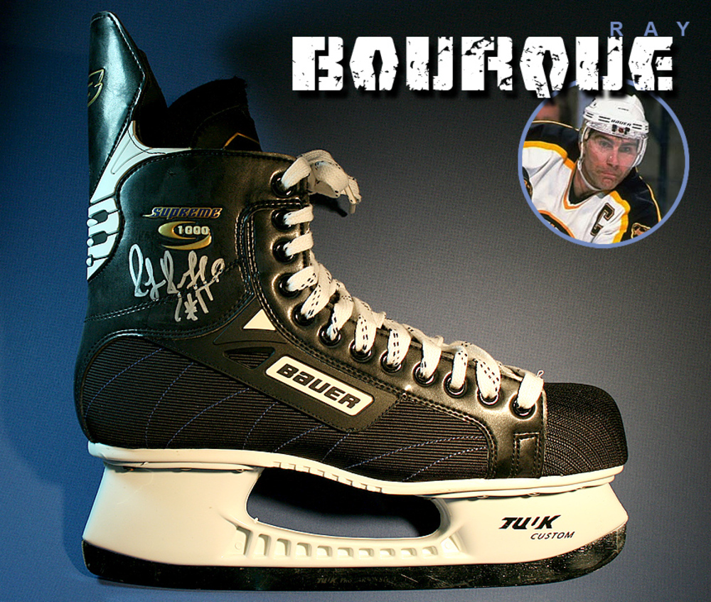 RAY BOURQUE Signed Bauer Skate - Boston Bruins
