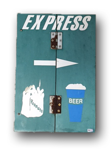 Photo of Wrigley Field Collection -- 'Express, Peanutes, Beer'
