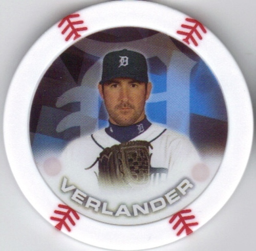 Photo of 2014 Topps Chipz #95 Justin Verlander