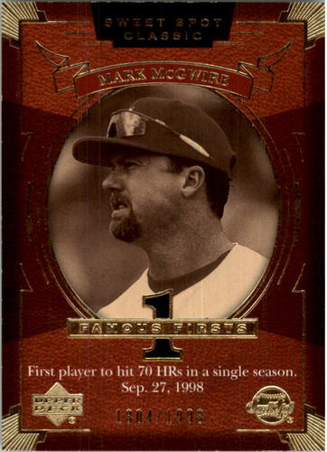 Photo of 2004 Sweet Spot Classic #130 Mark McGwire FF/1998
