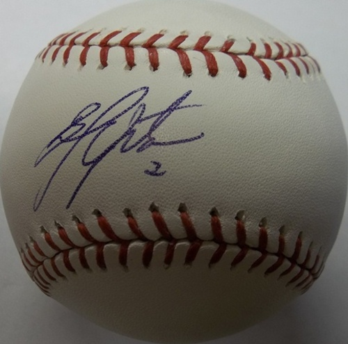 Photo of Melvin Upton Jr. Autographed Baseball