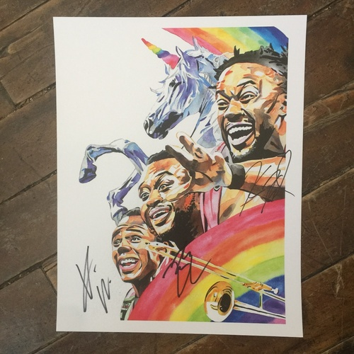 The New Day SIGNED 11 x 14 Rob Schamberger Print