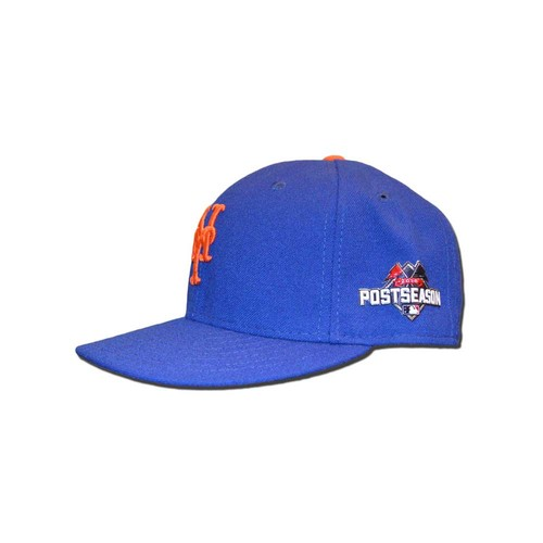 Photo of Tom Goodwin #26 - Game Used 2015 Postseason Hat - Worn Game 4 of NLDS and Game 4 of NLCS - Mets Win Pennant, Advance to World Series