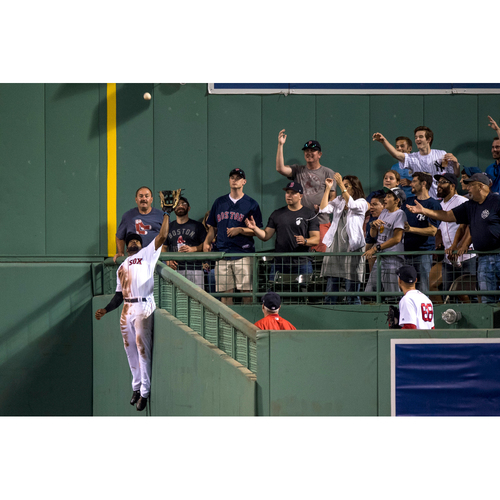 Photo of Red Sox Foundation Picnic In the Park Auction: Jackie Bradley Jr. Fielding Dreams