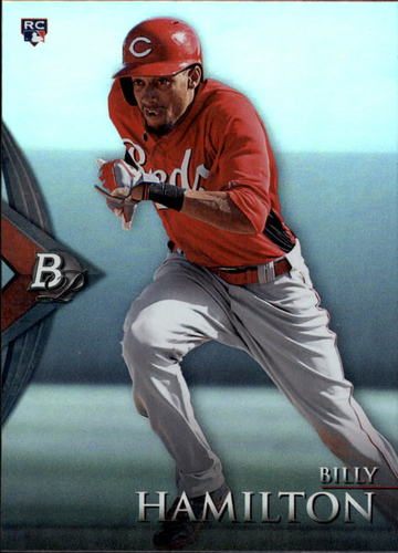 Photo of 2014 Bowman Platinum #78 Billy Hamilton  Rookie Card