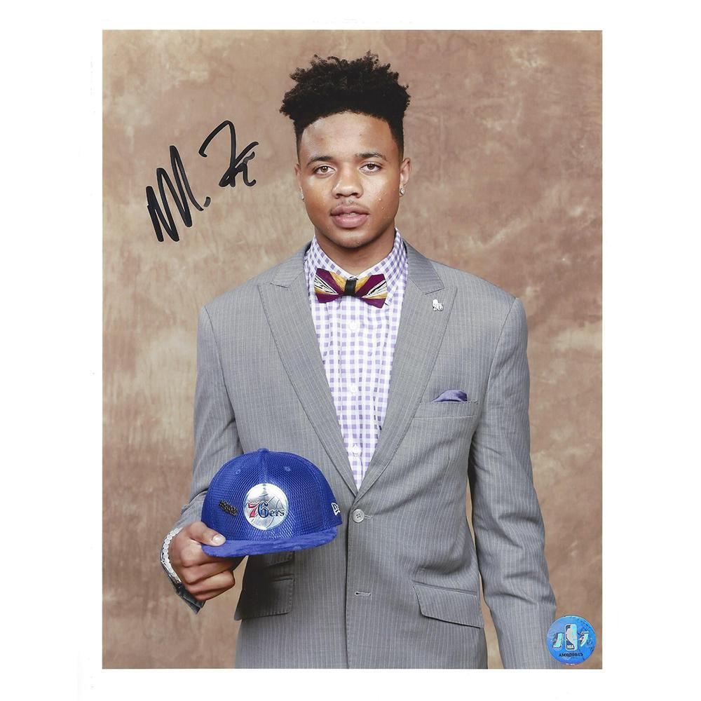 Markelle Fultz - Philadelphia 76ers - 2017 NBA Draft - Autographed Photo