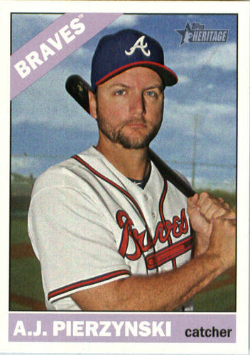 Photo of 2015 Topps Heritage #556 A.J. Pierzynski