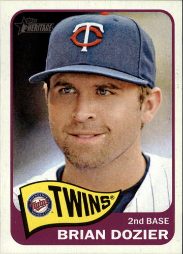 Photo of 2014 Topps Heritage #169 Brian Dozier