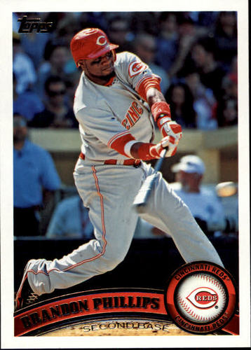 Photo of 2011 Topps #630A Brandon Phillips