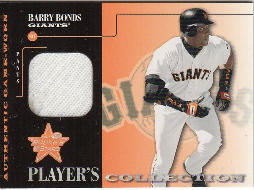 Photo of 2001 Leaf Rookies and Stars Players Collection #PC13 Barry Bonds Pants