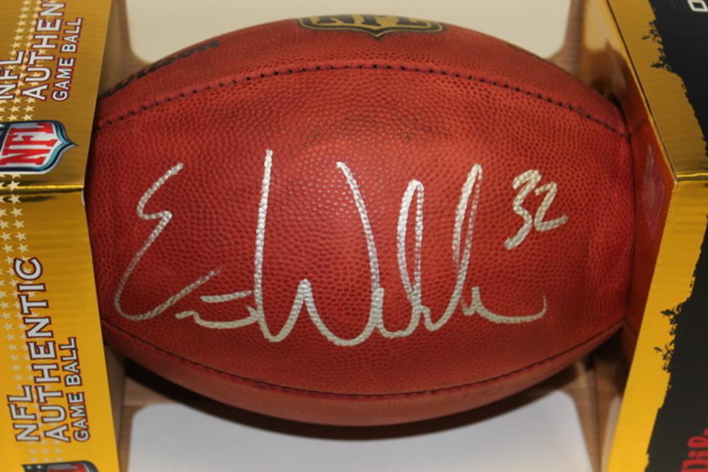 NFL - RAVENS ERIC WEDDLE SIGNED AUTHENTIC FOOTBALL