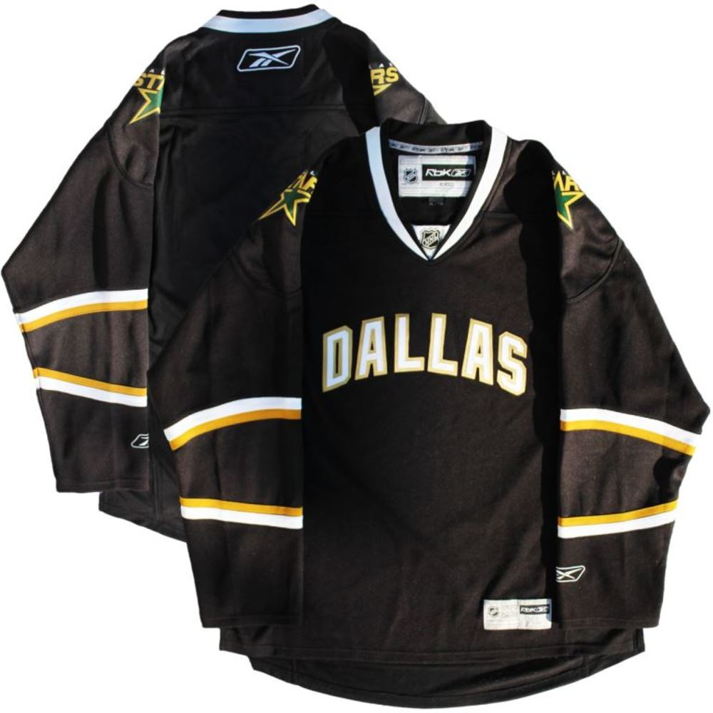 Dallas Stars - Black RBK 2010 Jersey (Size XL)