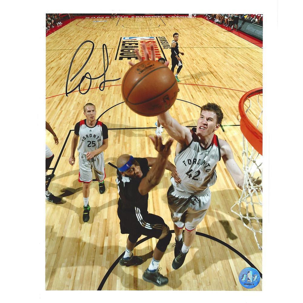 Jakob Poeltl - Toronto Raptors - 2016 NBA Draft - Autographed Photo