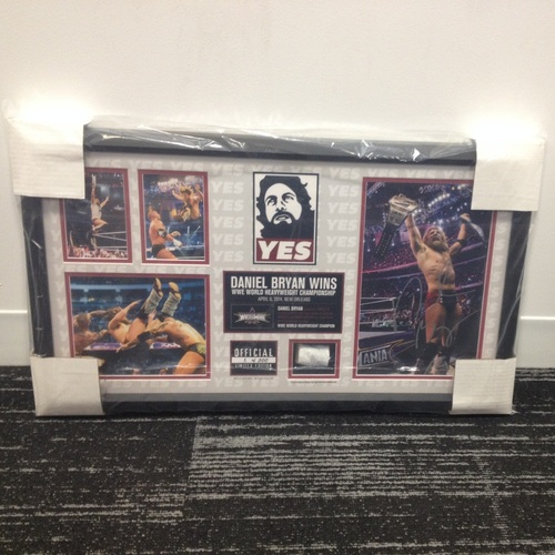Daniel Bryan WrestleMania 30 Signed Commemorative Plaque (#1 of 500)