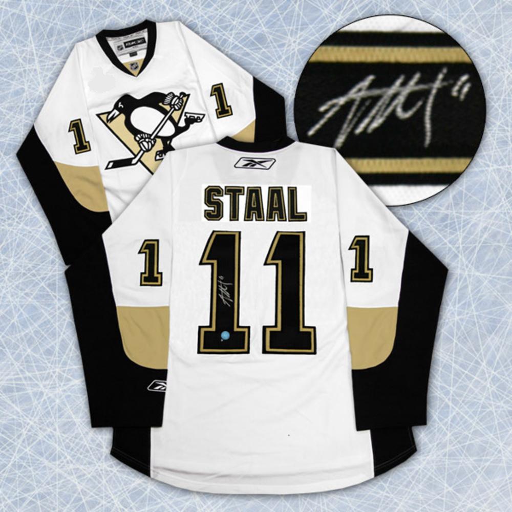 Jordan Staal Pittsburgh Penguins Autographed Reebok Premier Jersey