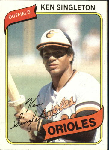 Photo of 1980 Topps #340 Ken Singleton