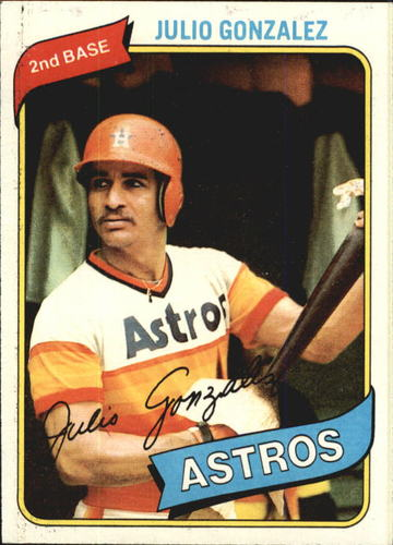 Photo of 1980 Topps #696 Julio Gonzalez
