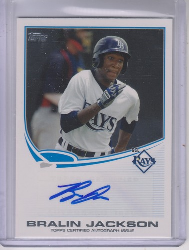 Photo of 2013 Topps Pro Debut Autographs #BJ Bralin Jackson