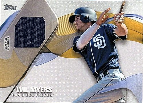 Photo of 2017 Topps Major League Materials #MLMWM Wil Myers Jersey