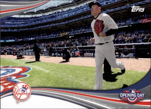Photo of 2017 Topps Opening Day Opening Day #ODB13 New York Yankees