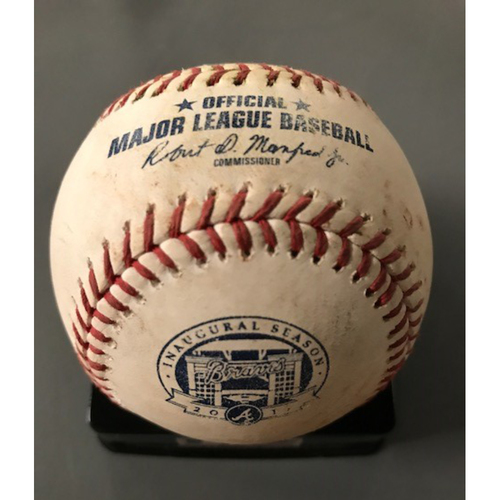 Marwin Gonzalez and Yuli Gurriel Game-Used Multi-Hit Baseball - July 5, 2017