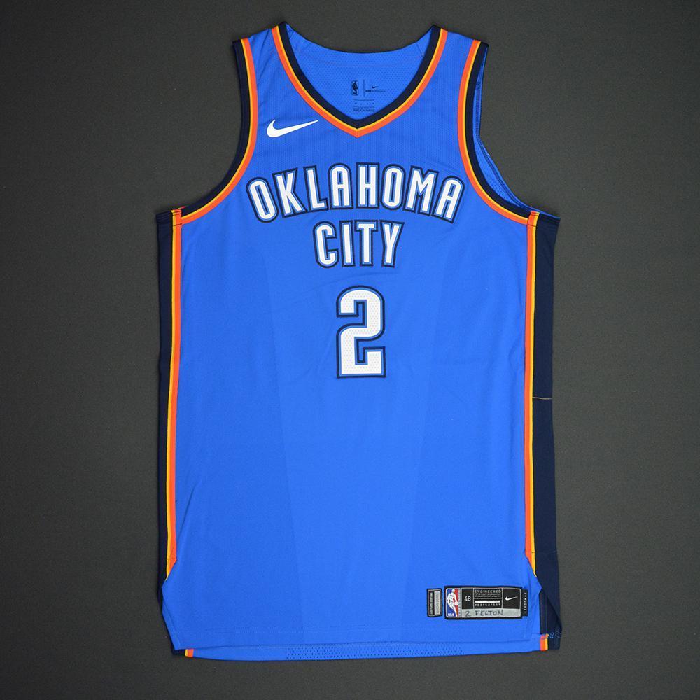 Raymond Felton - Oklahoma City Thunder - NBA Mexico City Games 2017 Game-Worn Jersey
