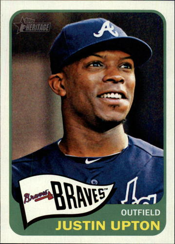 Photo of 2014 Topps Heritage #170A Justin Upton