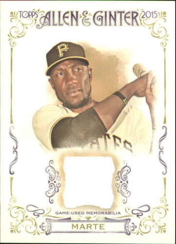 Photo of 2015 Topps Allen and Ginter Relics #FSRASM Starling Marte A