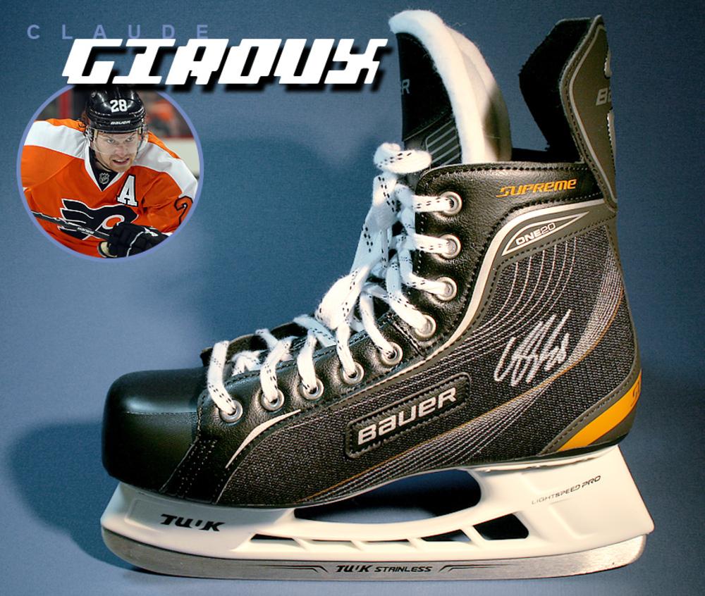 CLAUDE GIROUX Signed Bauer Skate - Philadelphia Flyers