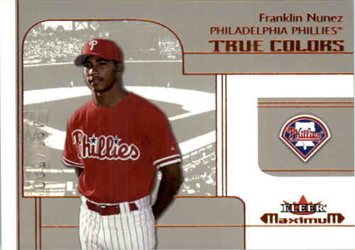 Photo of 2002 Fleer Maximum #234 Franklin Nunez RTC RC