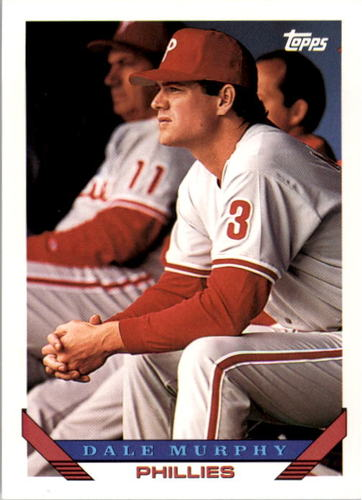 Photo of 1993 Topps #445 Dale Murphy