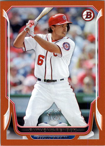 Photo of 2014 Bowman Orange #96 Anthony Rendon 30/250 -- Nationals post-season