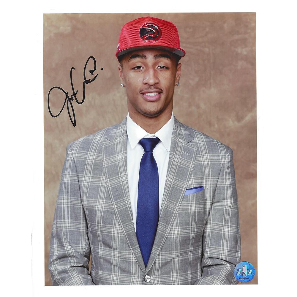 John Collins - Atlanta Hawks - 2017 NBA Draft - Autographed Photo