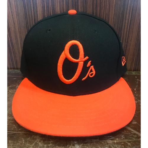 Photo of Austin Hays - Hat: Team-Issued