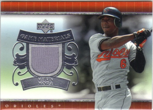Photo of 2007 Upper Deck UD Game Materials #MM Melvin Mora Jsy S1