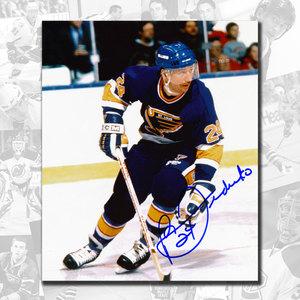 Bernie Federko St. Louis Blues Autographed 8x10
