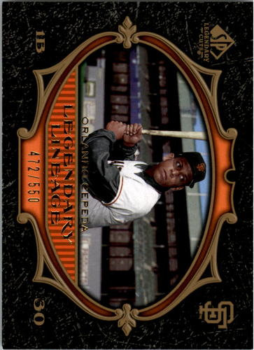 Photo of 2007 SP Legendary Cuts #187 Orlando Cepeda LL