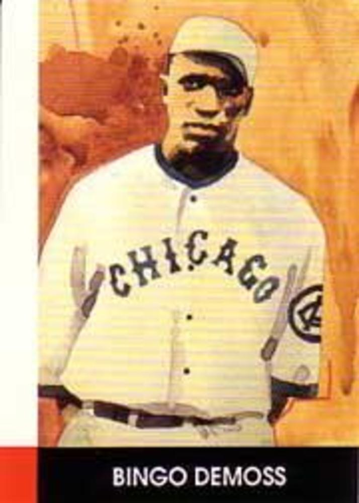 1990 Negro League Stars #6 Bingo Demoss