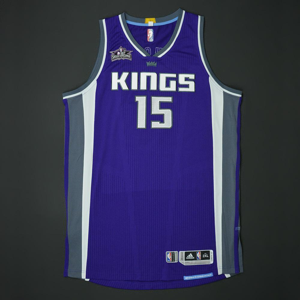 DeMarcus Cousins - Sacramento Kings - 2017 Taco Bell Skills Challenge - Event-Worn Jersey