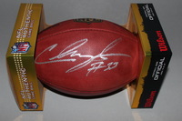 NFL - JAGUARS CHRIS IVORY SIGNED AUTHENTIC FOOTBALL