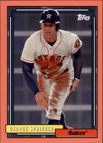 Photo of 2017 Topps Archives Peach #209 George Springer /199