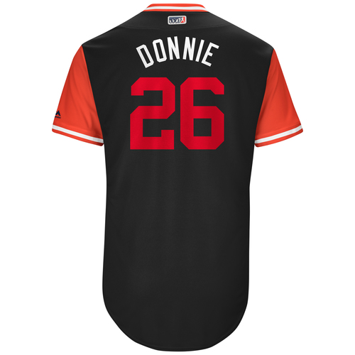 "Photo of Adam ""Donnie"" Lind Washington Nationals Game-Used Players Weekend Jersey"