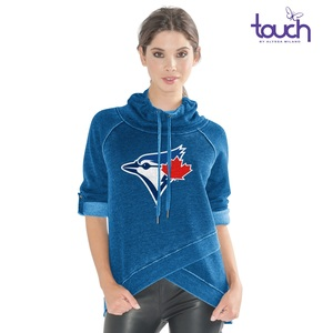 Toronto Blue Jays Women's Wild Card Fleece Hoody by G3