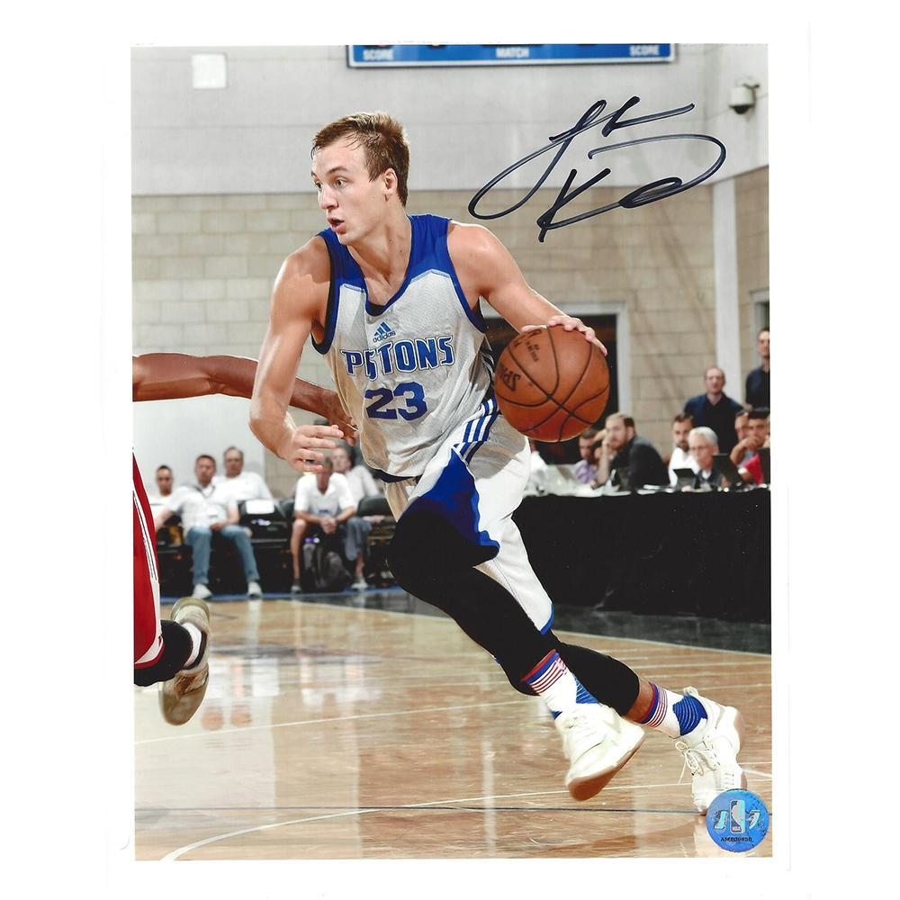 Luke Kennard - Detroit Pistons - 2017 NBA Draft - Autographed Photo