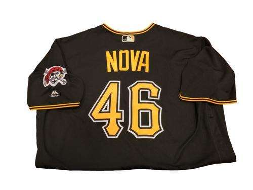 Ivan Nova Team-Issued Black Alternate Jersey