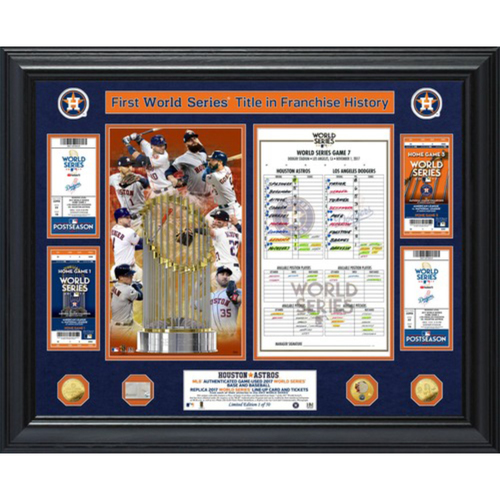 Limited Edition #1! Houston Astros 2017 World Series Champions
